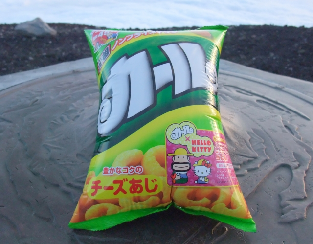 富士山菓子袋パンパン選手権