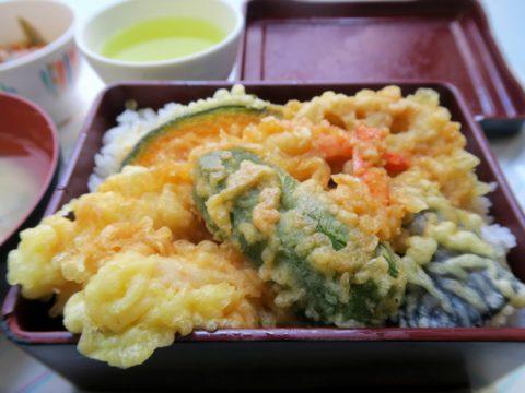 気象庁食堂天丼