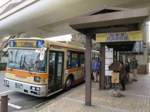 渋沢駅鍋割山バス