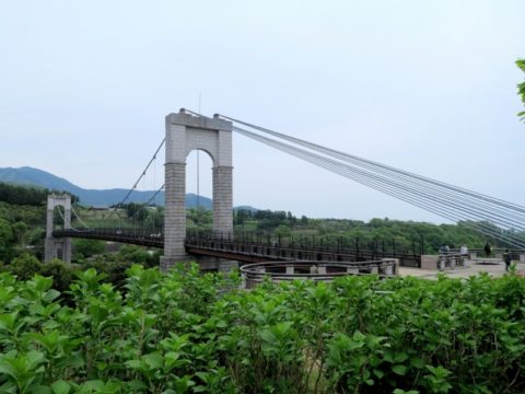 秦野市風の吊り橋