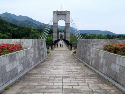 三ノ塔風の吊り橋