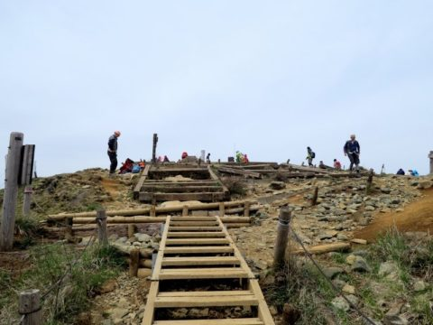 塔ノ岳木段登山道