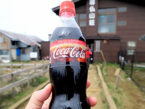 尊仏山荘コーラ