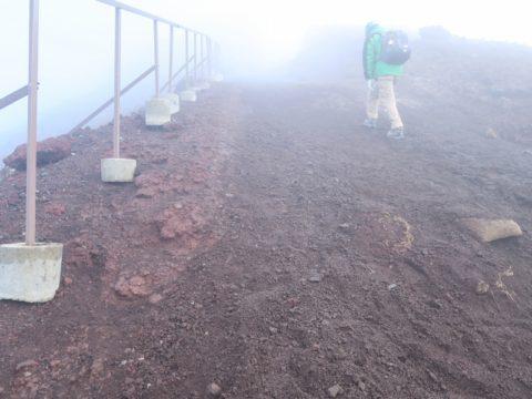 富士山頂馬の背