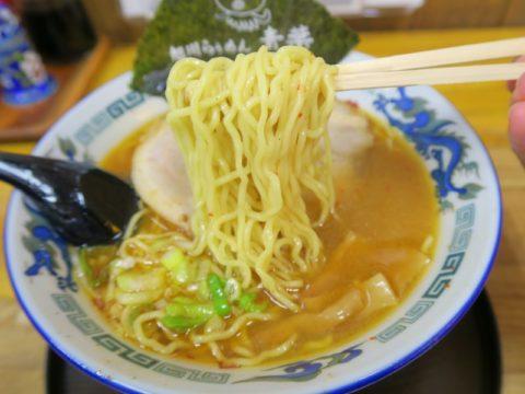旭川らぅめん青葉の味噌ラーメン