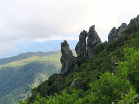 黒岳の突起部分