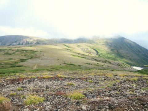 北海岳から白雲岳へ