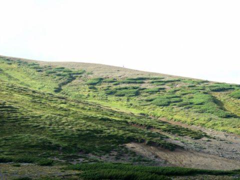 北海岳稜線