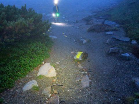 赤岳コースサイン
