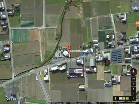 善根宿鴨の湯Googleマップのキャプチャ