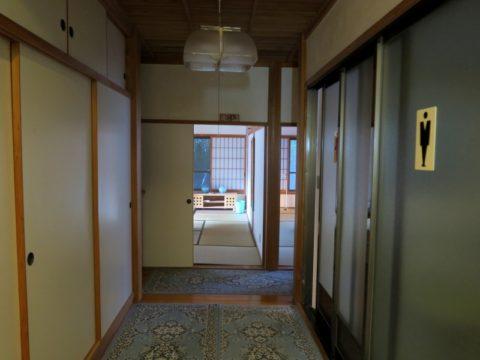 金剛福寺宿坊2階トイレ