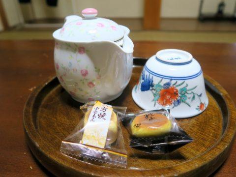 金剛福寺宿坊お茶菓子