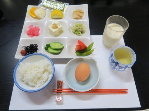 金剛福寺宿坊朝食