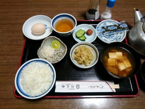 立江寺宿坊朝食