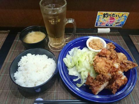新橋彩鶏のから揚げ定食