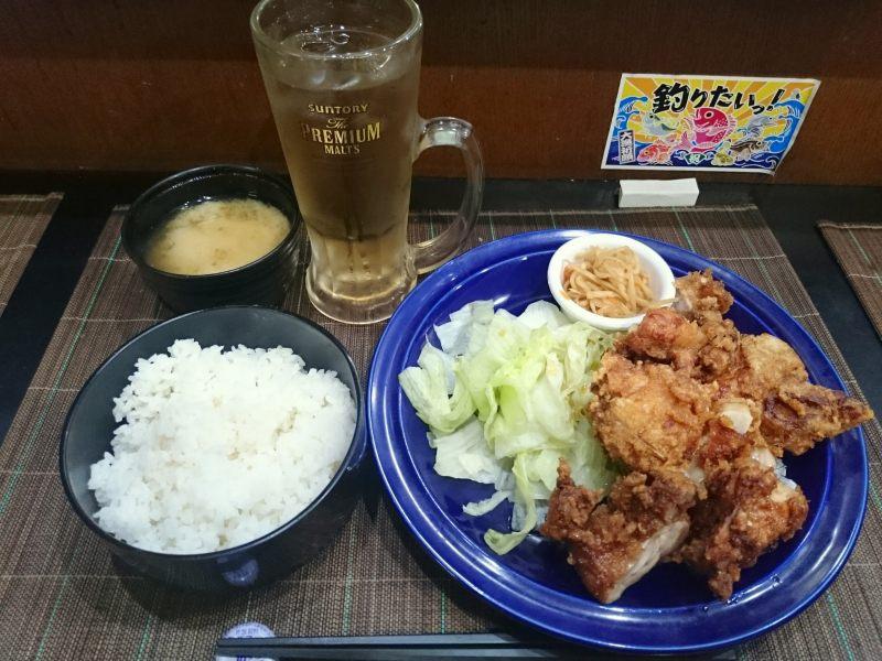 新橋彩からあげ処鶏のからあげ定食