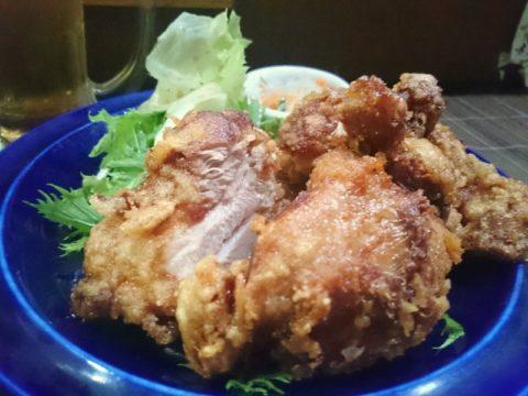 新橋彩鶏のからあげ定食