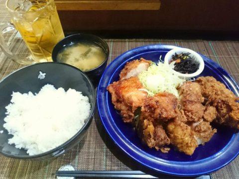 ニュー新橋ビル彩鶏のからあげ定食