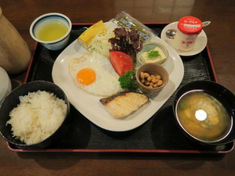 笛ヶ滝朝食