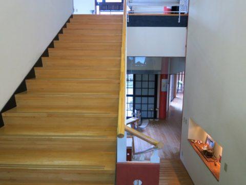 仙遊寺宿坊階段