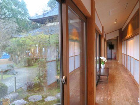 仙遊寺創心舎廊下