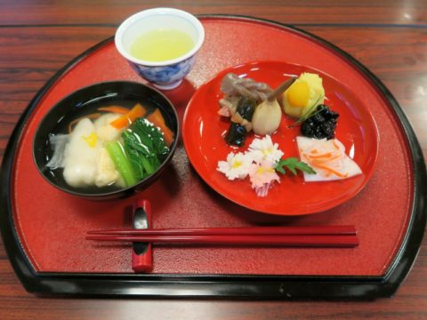 仙遊寺宿坊朝食