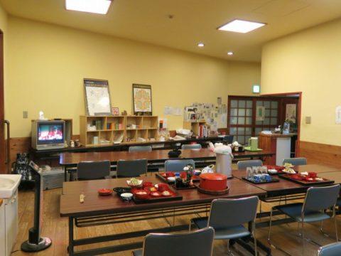 仙遊寺宿坊食堂