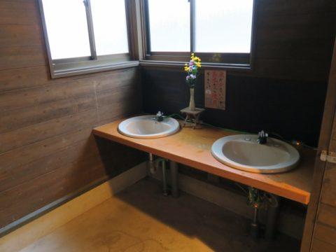 雲辺寺トイレ洗面台
