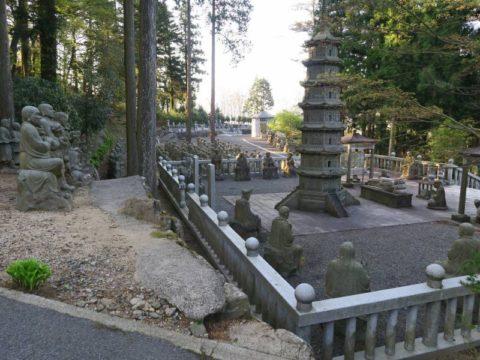 雲辺寺五百羅漢像