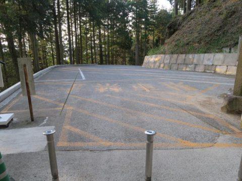 雲辺寺駐車場