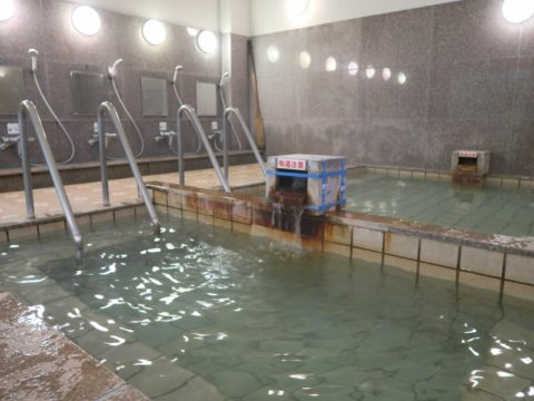 湯之谷温泉浴室