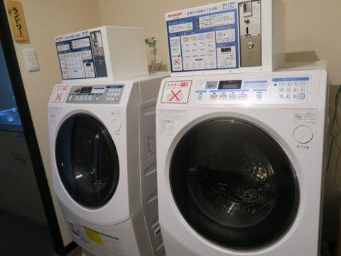 湯之谷温泉ゲストハウス洗濯