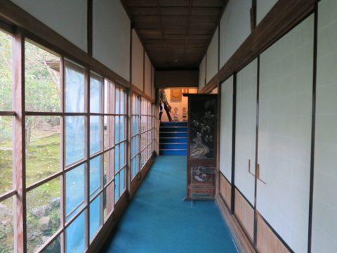 高野山無量光院廊下