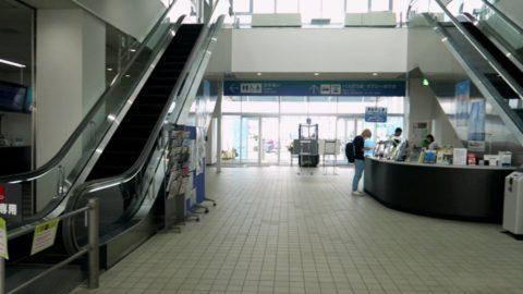 函館ターミナル内