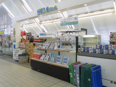 函館ターミナル SEAちゃん