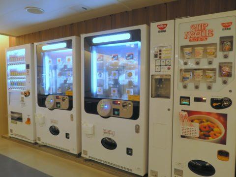 津軽海峡フェリーブルーハピネスフード自販機