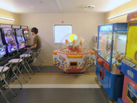 津軽海峡フェリーブルーハピネスゲームコーナー