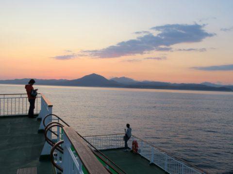 津軽海峡フェリー船旅