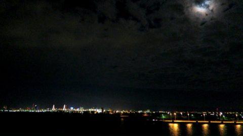 津軽海峡フェリー青森の夜景