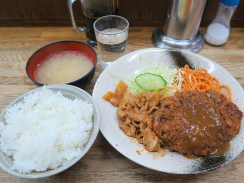 神保町キッチングランメンチカツ定食