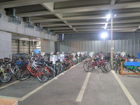 西新宿自転車保管場所