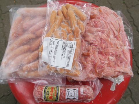 食肉市場まつりソーセージハム詰め合わせ