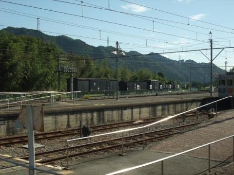 秩父本線終点・三峰口駅