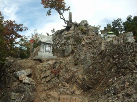 両神山頂奥社