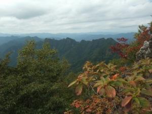 両神山頂上景色