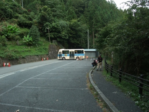 両神山日向大谷口バス