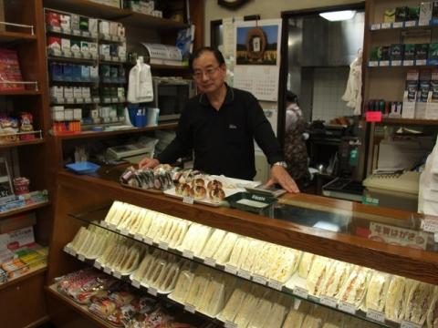 原島商店 サンドイッチ