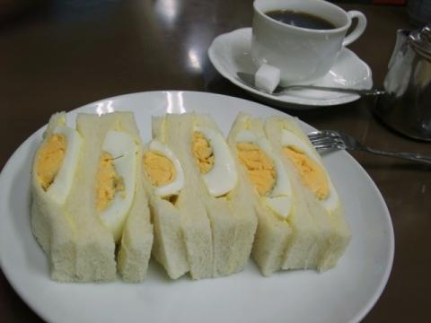 センリ軒 サンドイッチ