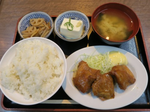 竹橋おきらく食堂メニュー
