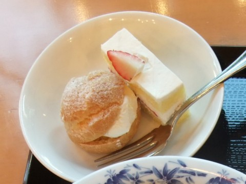 kkrホテル東京ラウンジロイヤルデザート